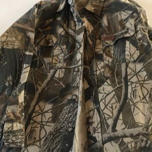 Other - Boys camp button down shirt